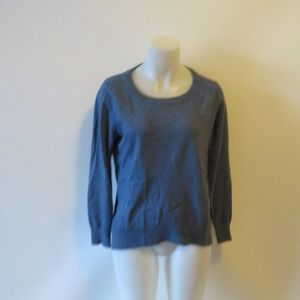 WOMENS MICHAEL KORS BLUE CREW NECK SWEATER SZ S*